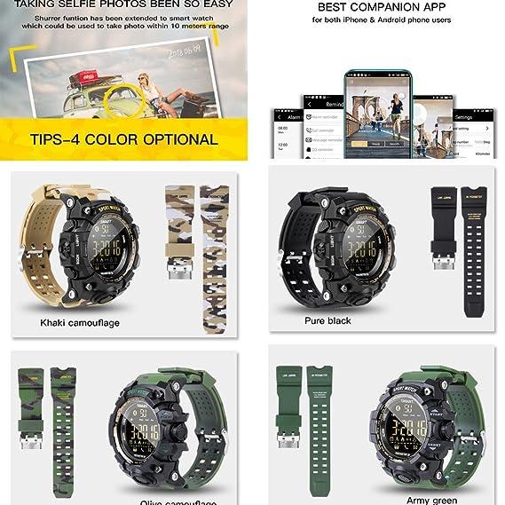 Desconocido EX16S Reloj Inteligente Deportivo Bluetooth IP67 ...