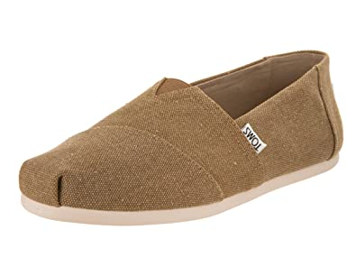 00481a569ea Image Unavailable. Image not available for. Color  TOMS Men s Seasonal  Classics Toffee Washed Canvas Loafer