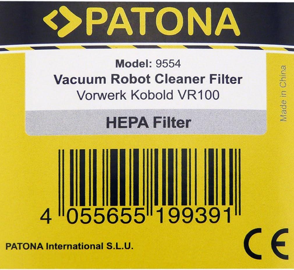 PATONA Microfiltro Higiénico HEPA Filtro Alergia para Vorwerk ...