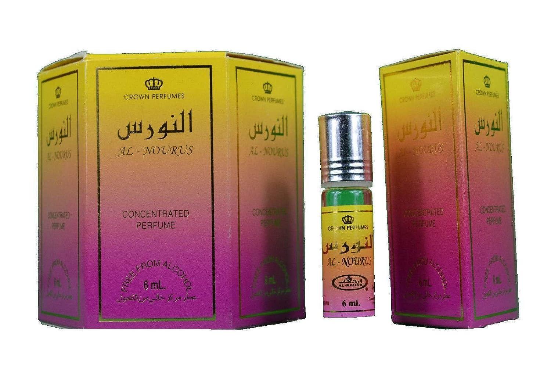 Vero Al-Rehab al Nourus direttamente a partire da 6x 6ml Olio di profumo–al Rehab REGNO UNITO Distributore H-Distribution