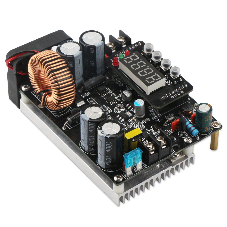 Droking Gleichstrom-Abw/ärtswandler DC-DC Step-Down-Spannung Regler 10V-75V 60V 24V bis 060V 12V 5V 12A Digital Control Volt Reducer Board Netzteilmodul mit LED-Anzeige /& CC CV-Modus