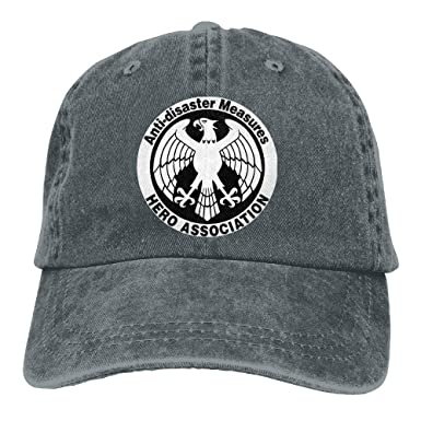 Medidas Anti-Desastre Heroes Association Denim Dad Cap Gorra de ...