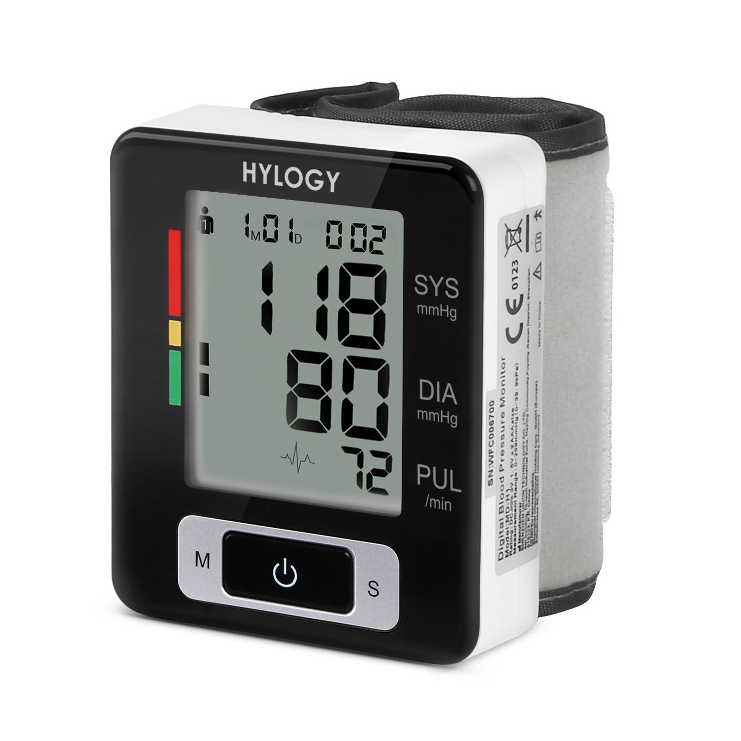 Hylogy Wrist Blood Pressure Monitor