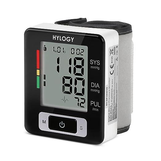 99 opinioni per Misuratore di Pressione da Polso,HYLOGY Sfigmomanometro Elettrico con Custodia