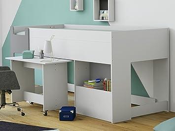 Kombi-Bett Schreibtisch Schreib-Schlaf-Kombi Etagenbett Kinderzimmer ...