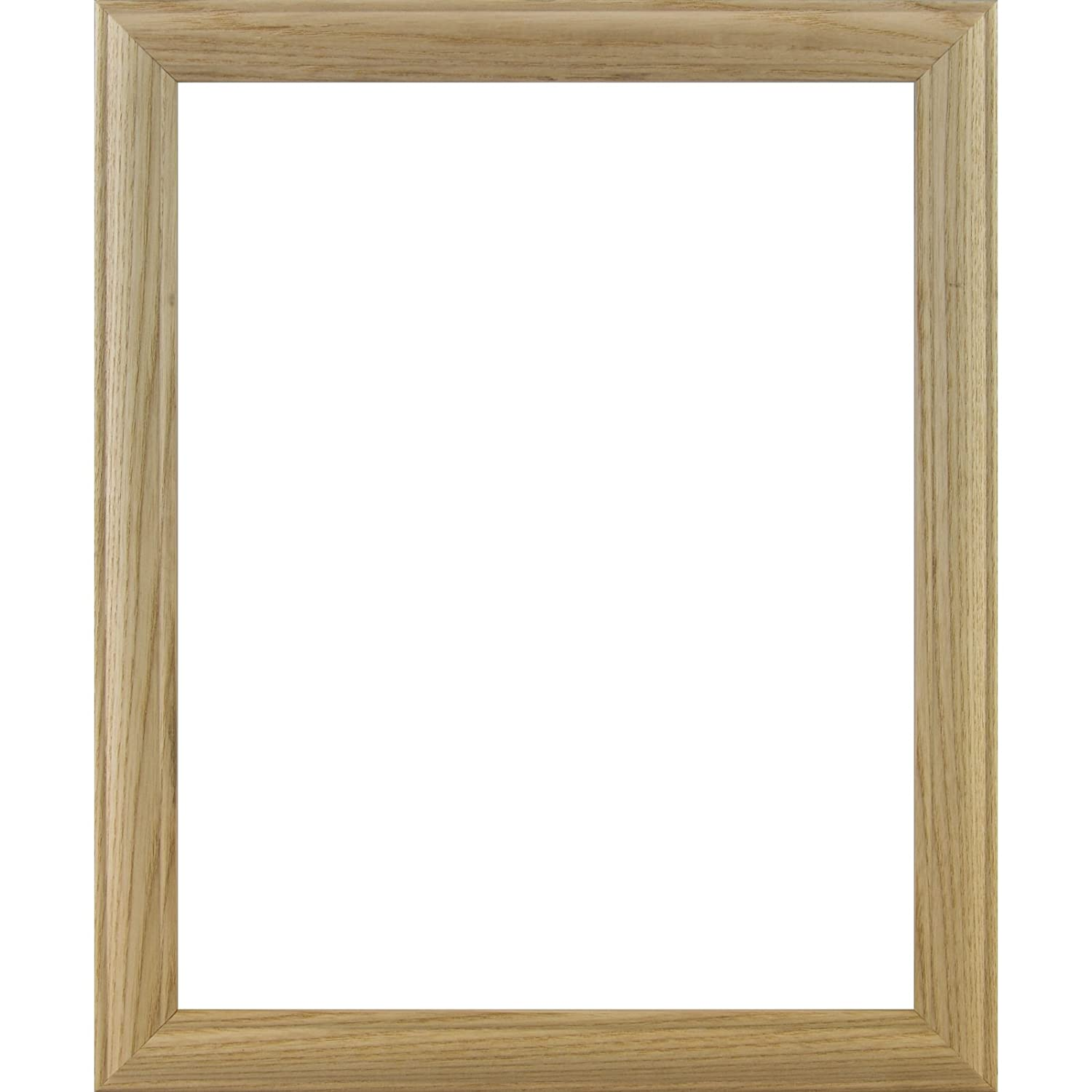 Craig Frames Wiltshire 68 Raw Empty Picture Frame 4 by 6-Inch Ash Frame Shell.84-Inch Wide Unfinished Hardwood
