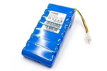 INTENSILO Batería Li-Ion 5000mAh (18V) para Robot cortacésped Husqvarna Automower 320, 330x (se Necesitan 2 baterías), 420.430, 430X: Amazon.es: Jardín