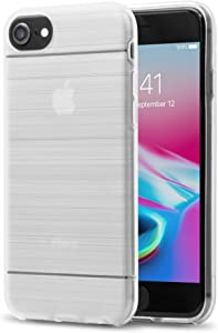 Just Wireless iPhone Case Clear Protective Case for Apple iPhone (iPhone 8, iPhone 7, iPhone 6S, iPhone 6) - Protective Advanced Shock Absorbing, Military Grade, Drop Tested - Clear
