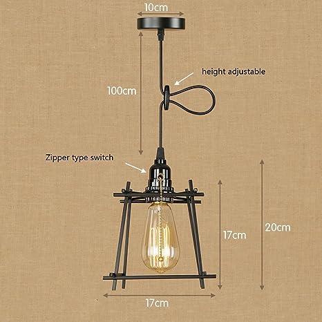 Max de Boli Farol Retro Vintage lámpara colgante techo la ...