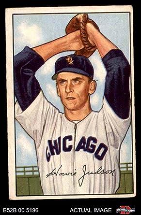 1955 Bowman #193 Howie Judson Cincinnati Reds Baseball Card