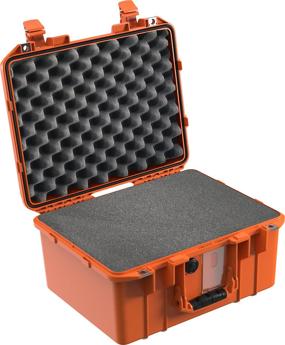 CVPKG Presents Orange Pelican 1507 Case Comes with foam.