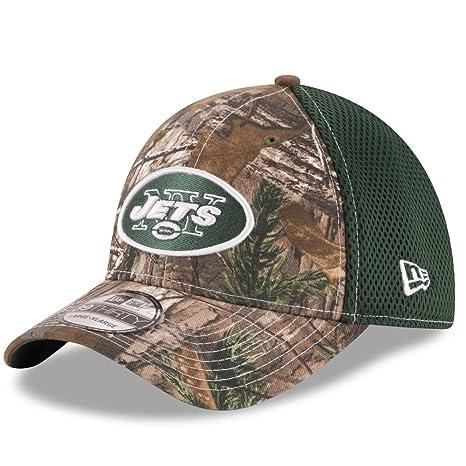 013a8f858ea Amazon.com   New York Jets Real Tree Neo 39THIRTY Flex Fit Hat   Cap ...