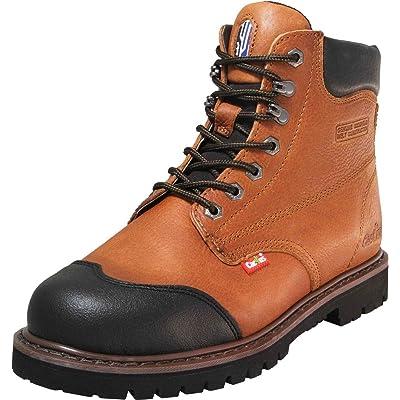"""Cactus Men's 6"""" 628 Light Brown Work Boot"""