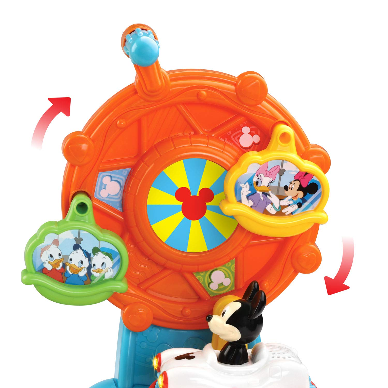 VTech Go! Go! Smart Wheels Mickey Mouse Magical Wonderland, Multicolor by VTech (Image #5)