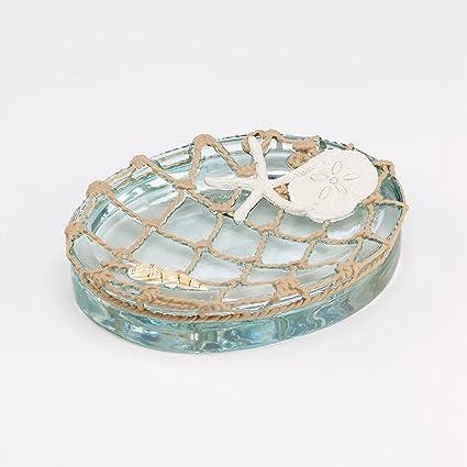 Amazon Com Avanti Linens Seaglass Soap Dish Home Kitchen