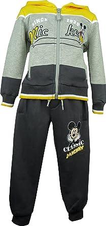 Niños Disney Mickey Mouse Chándal Gris-3 Años / 96 cm: Amazon.es ...