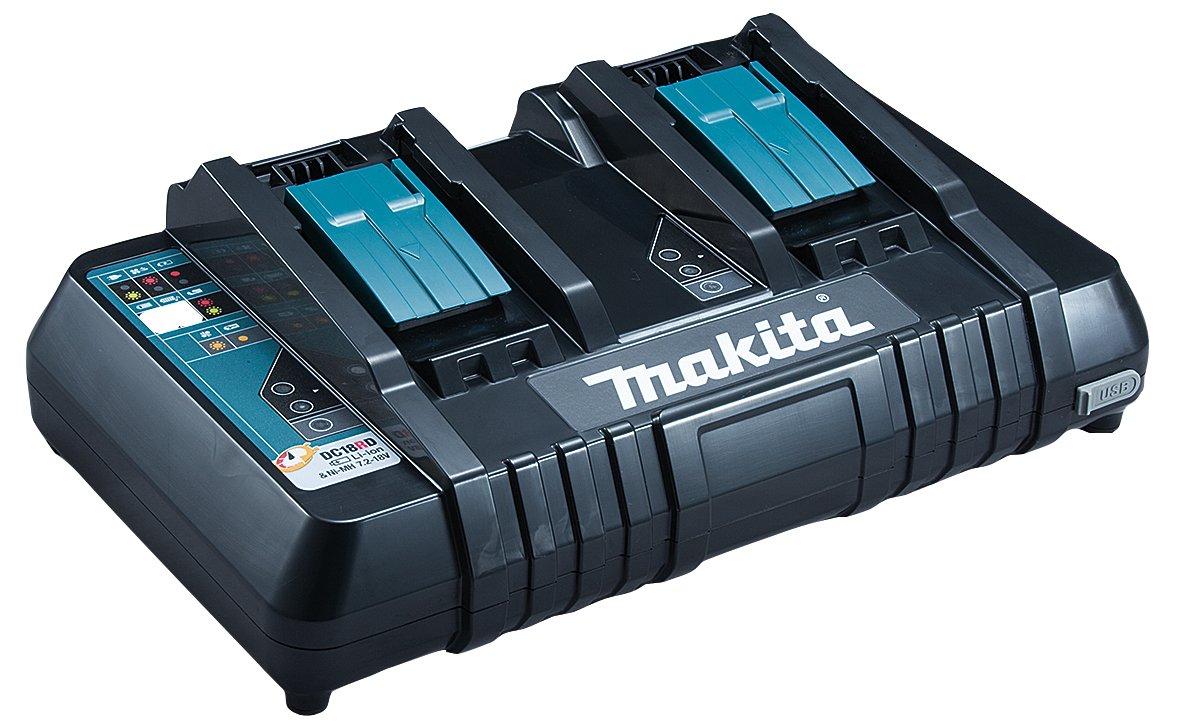 Makita DHR264Z 18V autom/ático Martillo ligero 26mm 18V Makita DC18RD Cargador de bater/ía