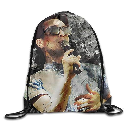 023e9172e270 Amazon.com: Panic! At The Disco Drawstring Backpack Sport Bag ...