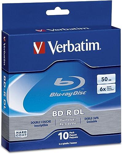 Verbatim BD-R 50GB 10PK