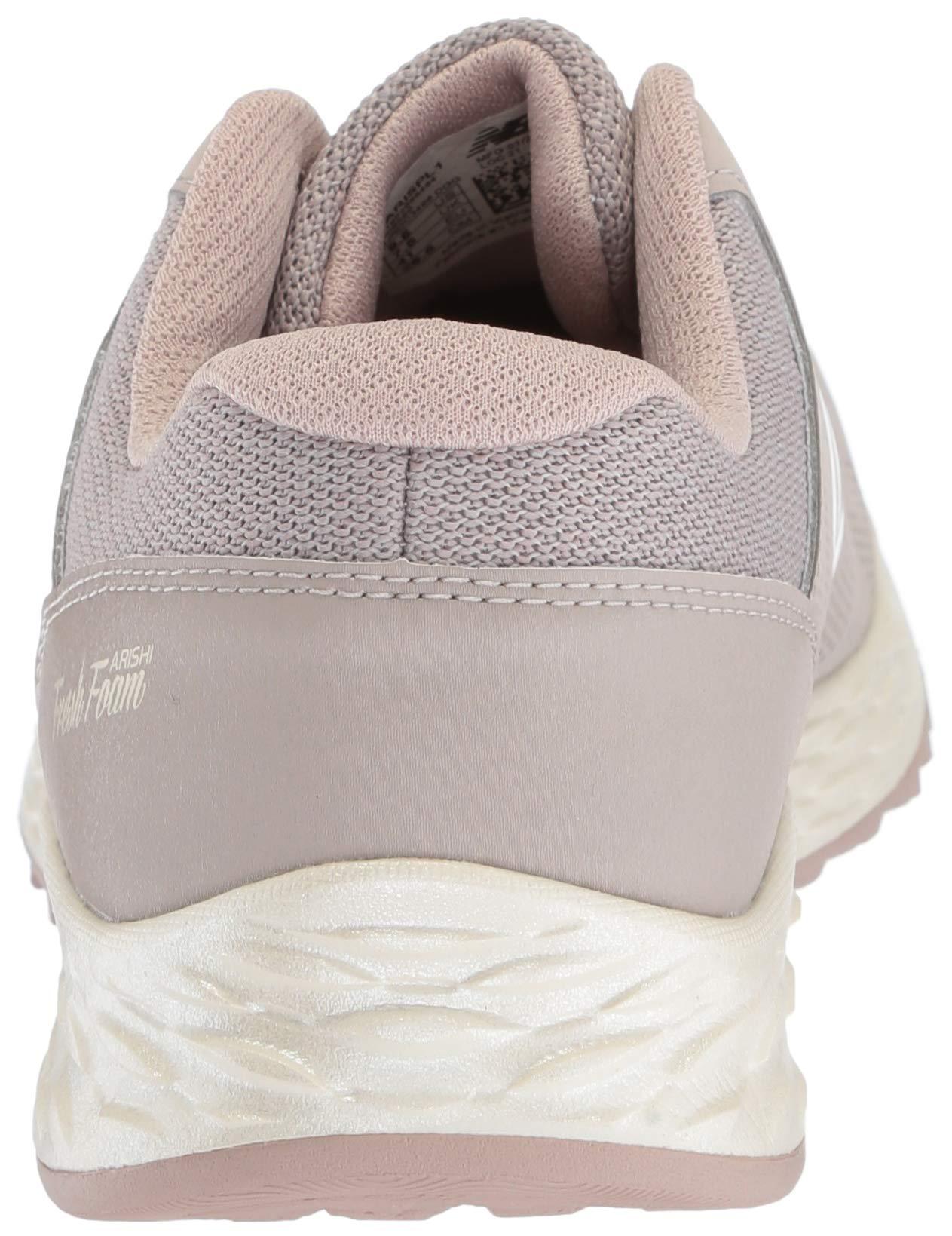 New Balance Women's Fresh Foam Arishi V1 Running Shoe, Flat White/au Lait 5 B US by New Balance (Image #2)