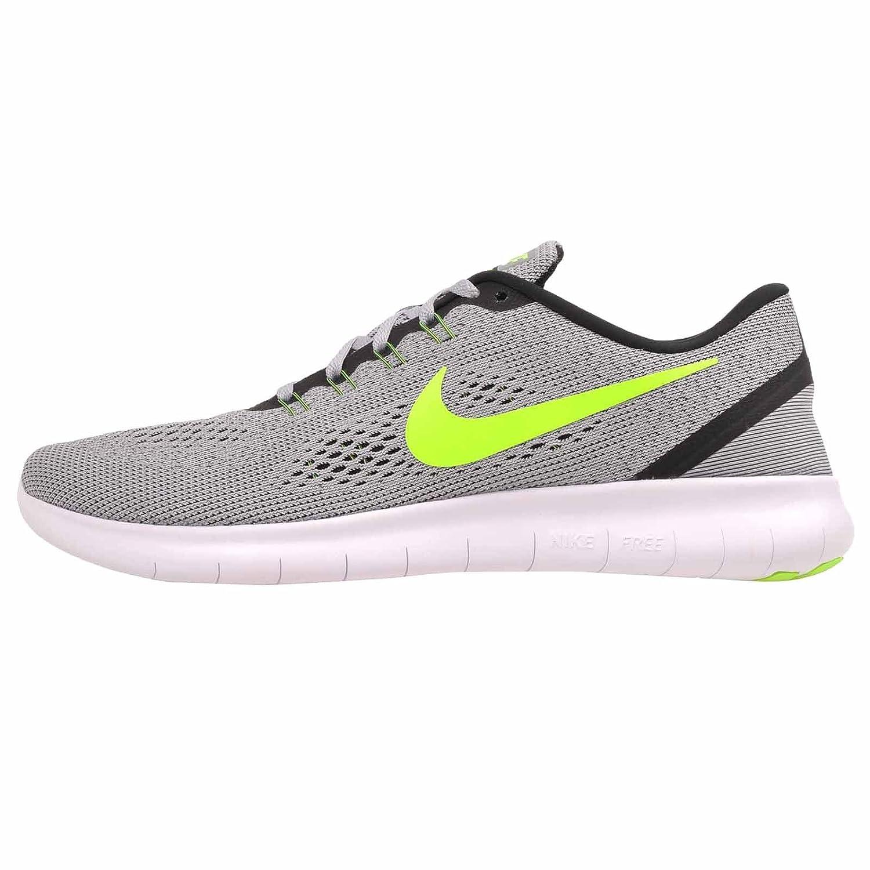 argentoo (Pr Platinum   Elctrc Grn-anthrct) Nike gratuito RN, Sautope da Ginnastica Uomo