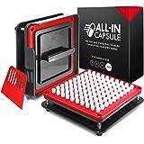 ALL-IN Capsule Máquina de llenado de cápsulas 000 - Hacer cápsulas propias es más fácil y más rápido - Use con cápsulas vacía