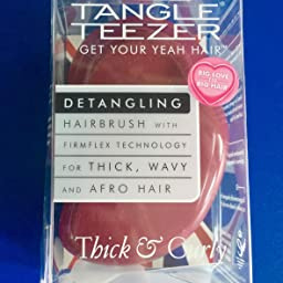 Tangle Teezer, Cepillo para el cabello (cabello grueso y rizado ...