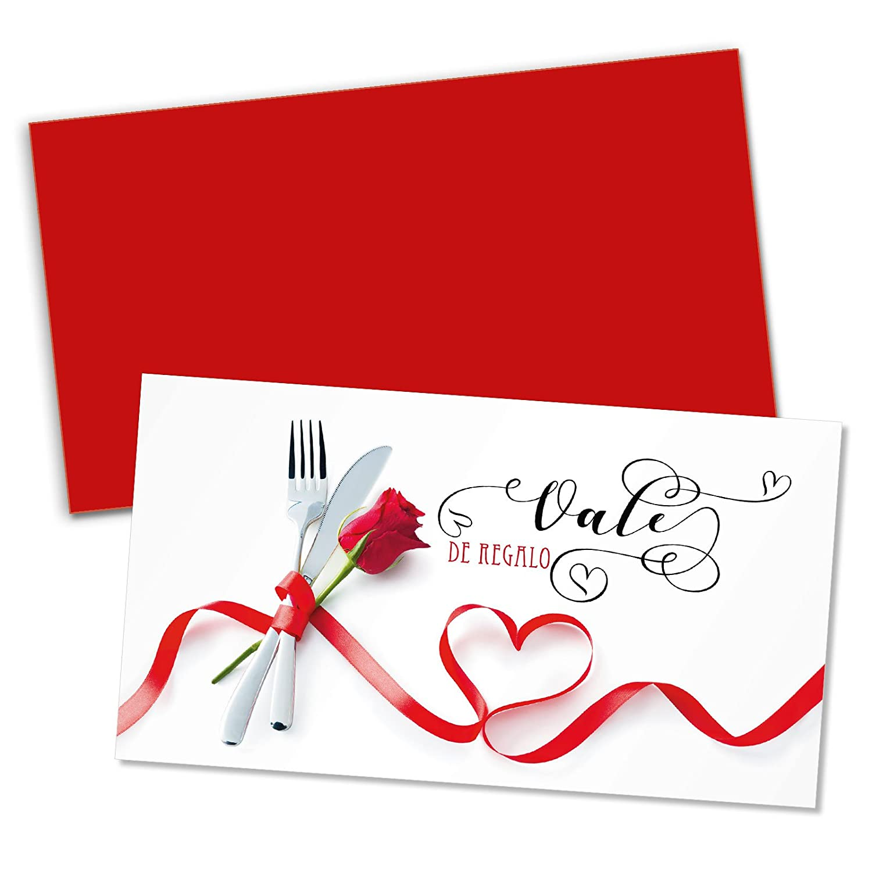 25 vales de regalo + restaurantes 25 sobres para restaurantes + y gastronomía G12021E fa851d