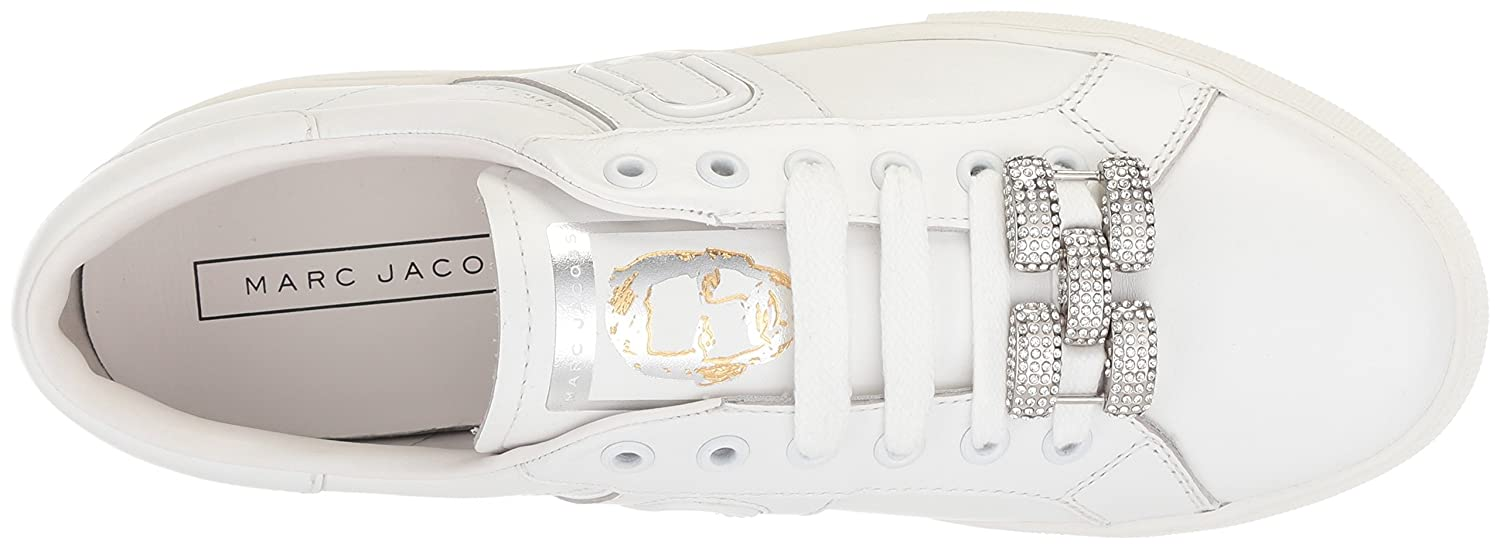 Marc Jacobs Women's Empire Chain Link EU Sneaker B072KLQZMZ 36 M EU Link (6 US)|White 4703fd
