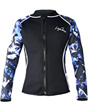 Layatone Wetsuit Top Women Men Premium 3mm Neoprene Diving Suit Jacket for  Women - Wetsuit Jacket 0b9eb5250