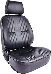 SCAT ENTERPRISES 80-1300-51R PRO90 Recliner Seat w// Headrest RH Black Vnyl