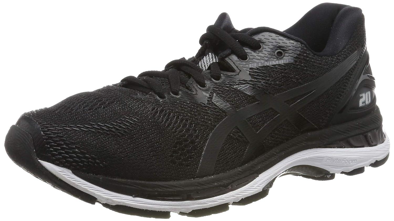 Noir blanc Carbon ASICS Gel-Nimbus 20, Chaussures de Running Homme 40 4E EU