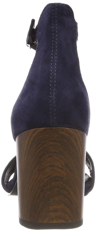 Vagabond Damen Blau) Carol RiemchenSandale, Blau (Dark Blau) Damen 48906a