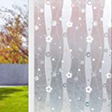 3D Window Film No Glue Static Decorative Privacy Films Window Anti-UV Glass Film for Home Office Living Room Meeting Room (17