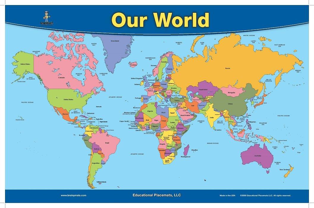 Map Of Our World | www.genialfoto.com