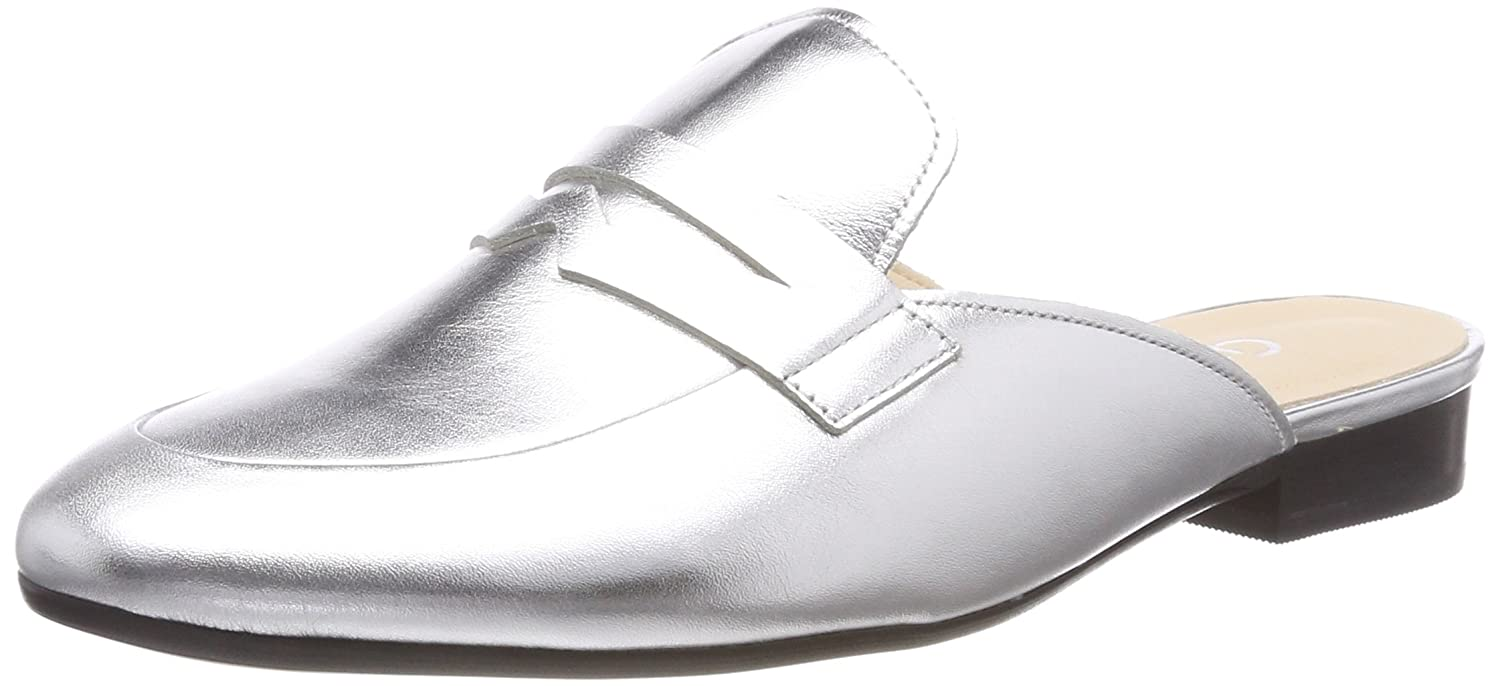 Gabor Shoes Comfort Sport, Mules para Mujer 38 EU|Multicolor (Silber)