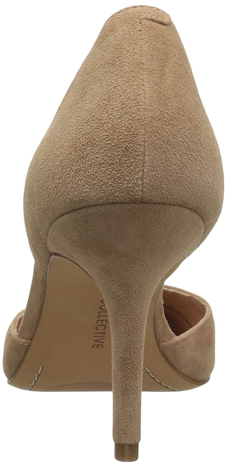 206 Collective Women's Adelaide D'Orsay Dress Pump B0789CGY1T 8 B(M) US|Caramel Suede