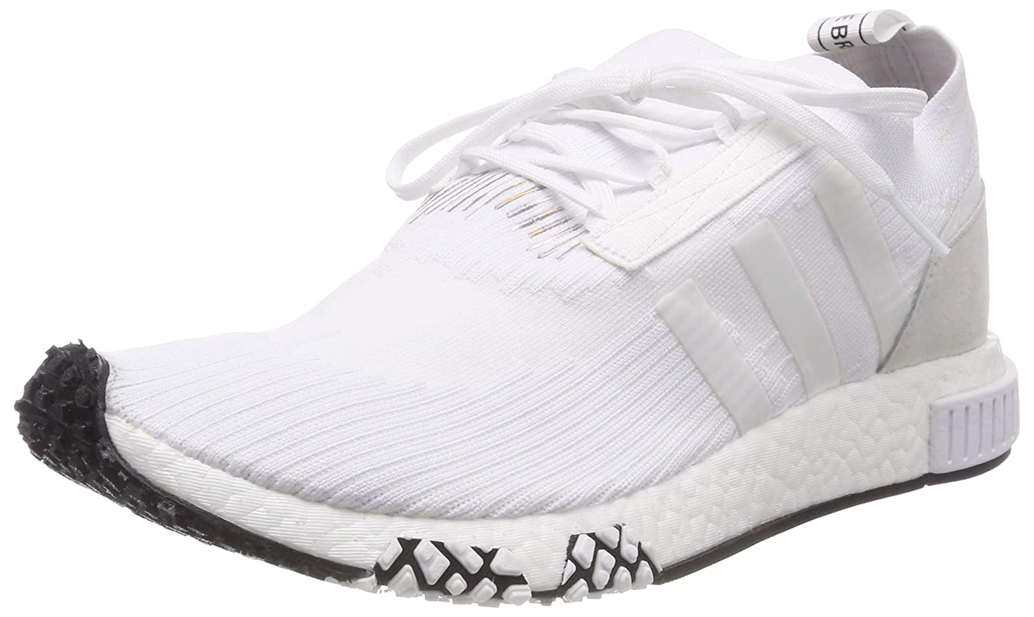 Blanc (Ftwbla 000) adidas NMD Racer PK – Chaussures Sportives, Homme