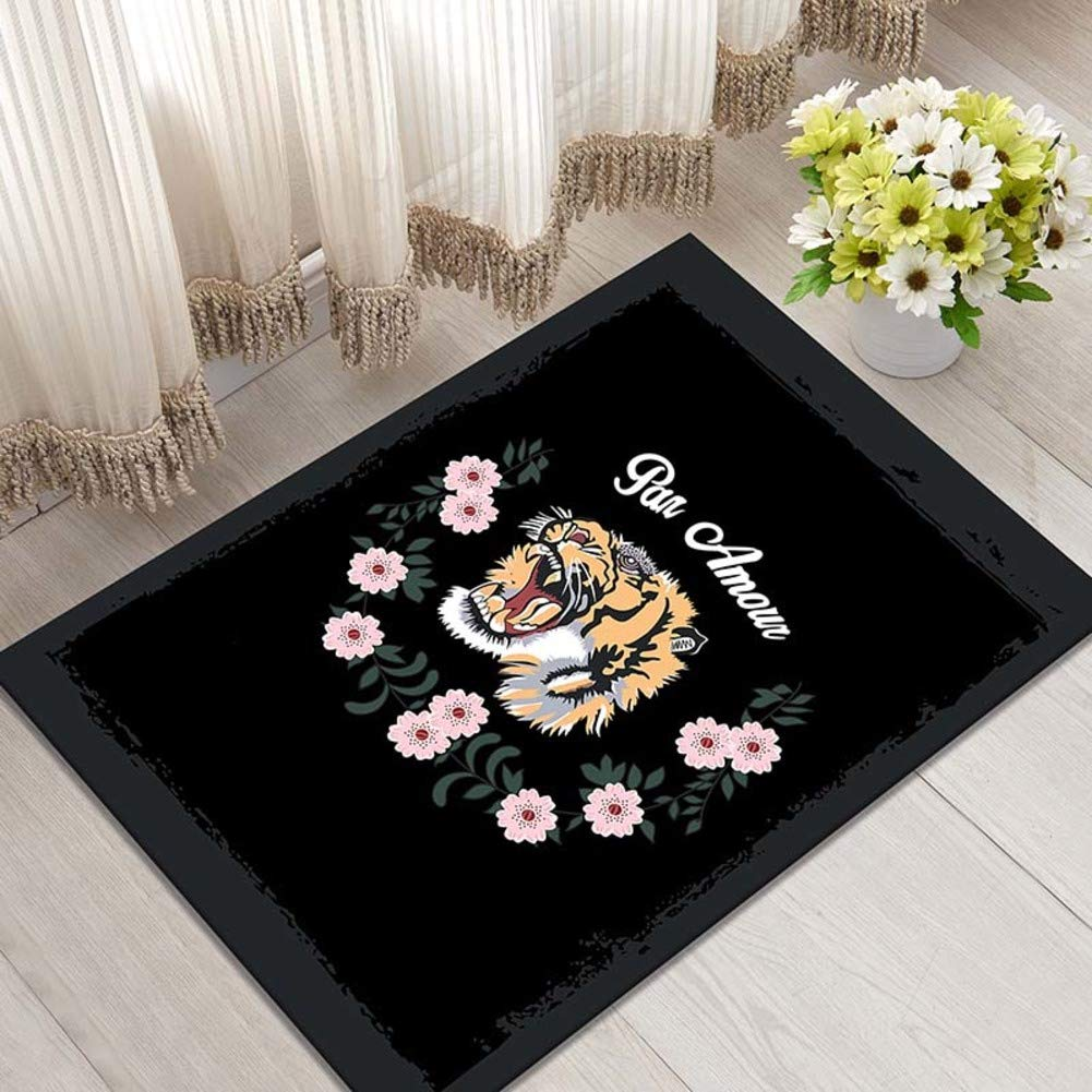 C 60x90cm(24x35inch) Door mat,Entrance Door mats Bedroom Bathroom Non-Slip mat Floor mat Rectangle Rug Indoor Doormat-D 80x120cm(31x47inch)