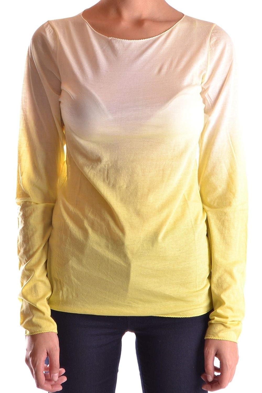 Brand Size S BP STUDIO Women's MCBI16285 Yellow Cotton TShirt