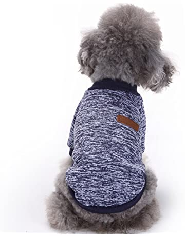 b93afedda Fashion Focus On Pet Dog Clothes Knitwear Dog Sweater Soft Thickening Warm  Pup Dogs Shirt Winter