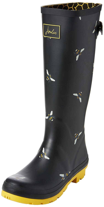 Tom Joule Damen Botanical Wellyprint Gummistiefel Schwarz (schwarz Botanical Damen Bee Blkbotb) 2fb03e