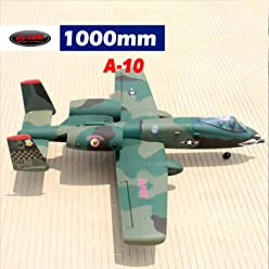 DYNAM RC Airplane A-10 Thunderbolt 64mm EDF Jet