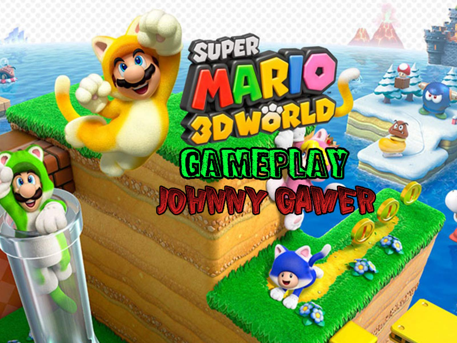 Watch Clip Super Mario 3d World Gameplay Johnny Gamer Prime Video