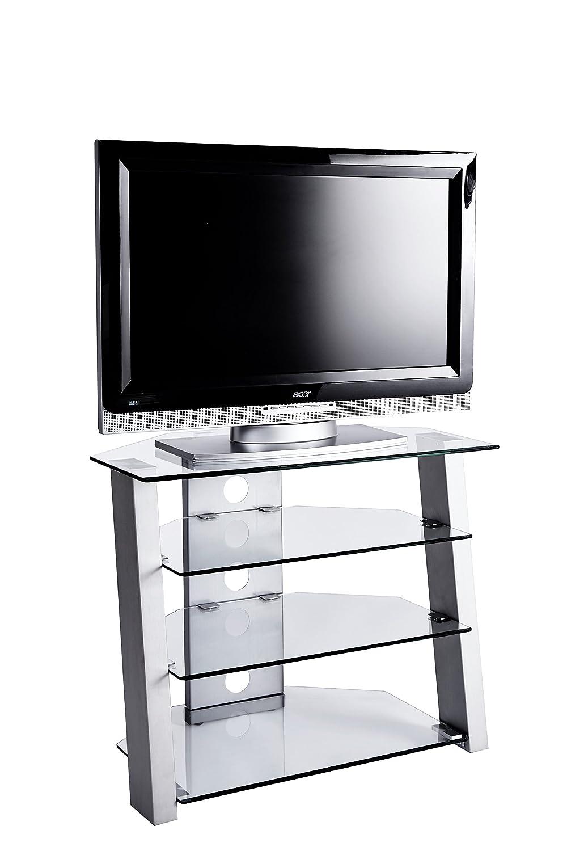 Jahnke 80 Tv Möbel Glas Metallfarbig 80 Jahnke X 45 X 65 Cm