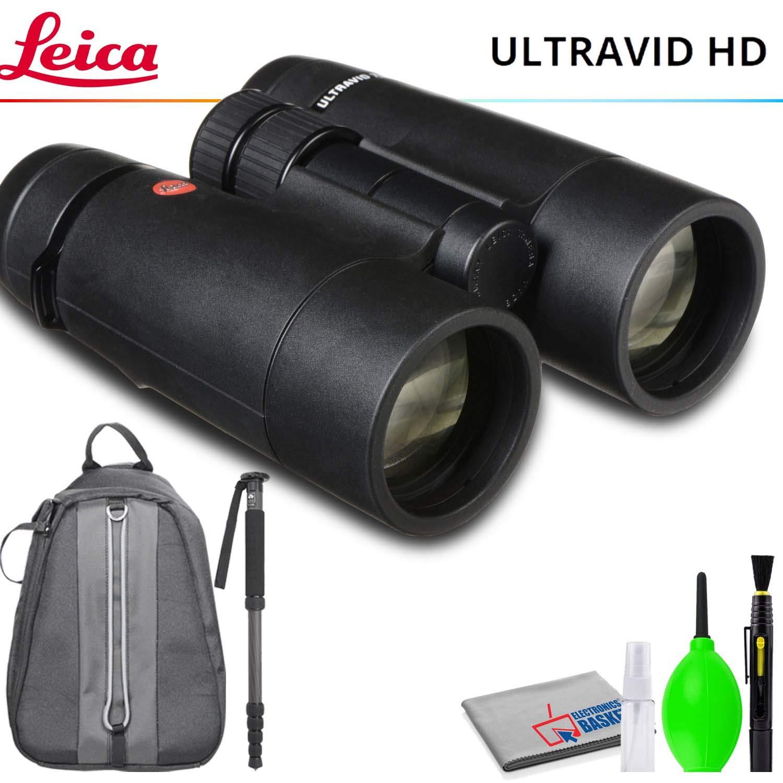 Leica 7x42 紫外線HD-Plus 双眼鏡 一脚付き デラックスバックパック クリーニングキット