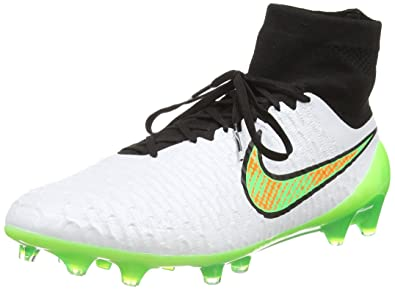 017853730 ... total orange high soccer 4d546 b43ea  get nike magista obra fg herren  fußballschuhe weiß white poison green black c006a 9d35f