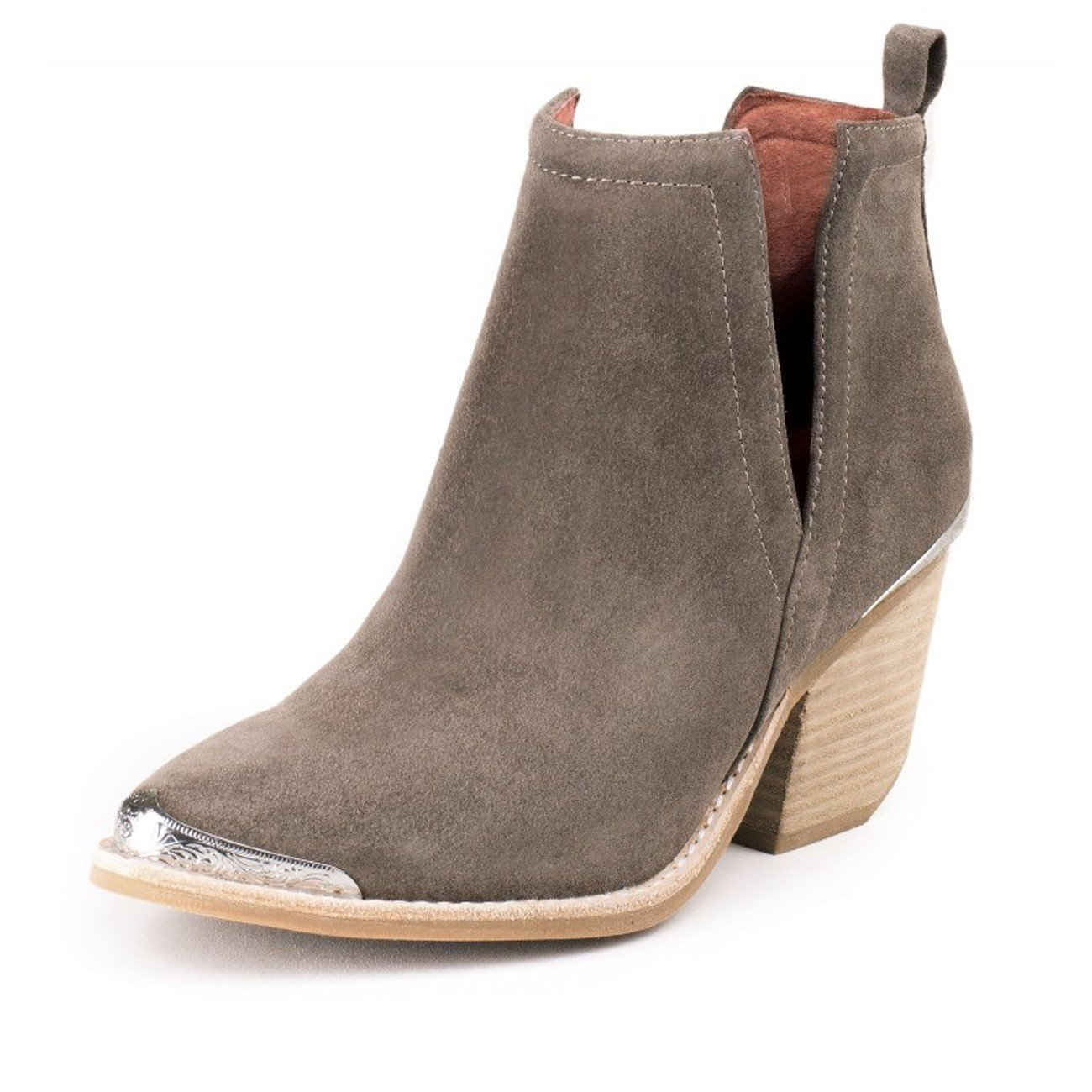 Jeffrey Campbell'Cromwell, taupe distressed suede B01MY2EU0M 9 B(M) US