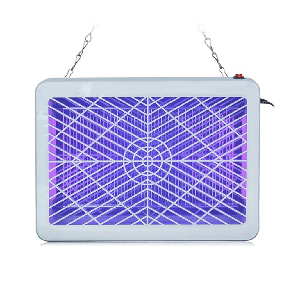 ordina adesso LIANGLIANG Repellente Scossa Elettrica Elettrica Elettrica Dell'interno Dell'onda Viola del LED Sicurezza Nessuna Radiazione Bianca, 2 Formati (Dimensioni   35  25  6)  presa di marca