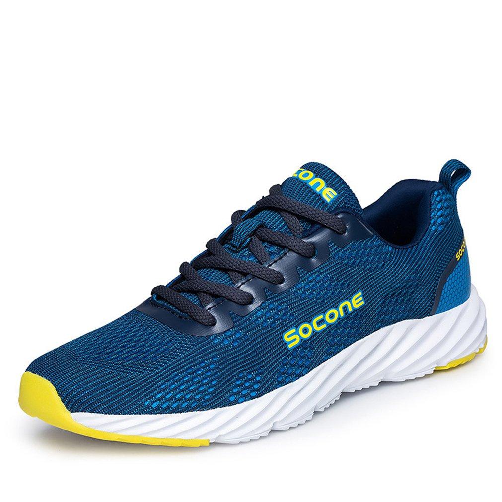 LFEU Zapatillas de Atletismo de Malla Unisex Adulto 42 EU|Azul